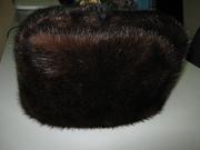 шапка -ушанка норка мужская