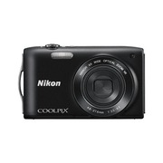 Фотоаппарат цифровой Nikon Coolpix S3300 black