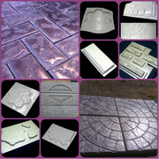 формы для тротуарной плитки,  забора,  камня,  памятников