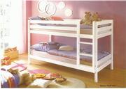 Кровать lдетская двухъярусная Морисса (массив)