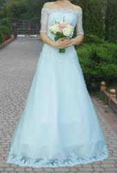 Свадебное платье очень нежное и утонченное