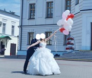 прекрасное свадебное платье