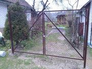 Ворота и калитки с бесплатной доставкой на дом по всей Беларуси.