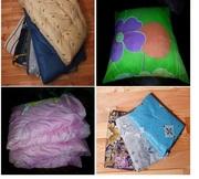 Комплект постельного белья эконом класса: наволочка,  простынь,  пододея