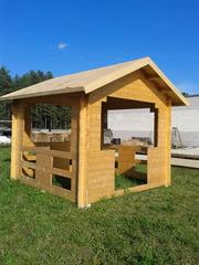 Купи деревянную беседку с доставкой в Могилев
