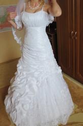 Свадебное платье р.42-46