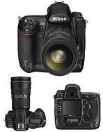 Nikon D3X 24.5MP FX Лічбавыя люстраныя