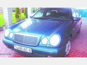 Мерседес-E240/W210,  1997 г.в.,  2.4 бензин,  АКПП,  зеленый металлик,  кли