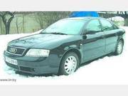 Ауди-A6 C5,  1997 г.в.,  1.8 турбо бензин,  5-МКПП,  180 тыс.км,  черный ме