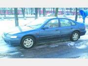 Хонда-Аккорд,  1998 г.в.,  2.0 TDI,  370 тыс.км,  синий,  кожа,  обогрев фил